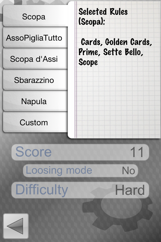 Screenshot iScopa